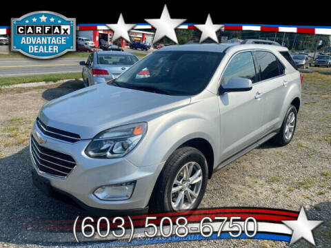 2016 Chevrolet Equinox for sale at J & E AUTOMALL in Pelham NH