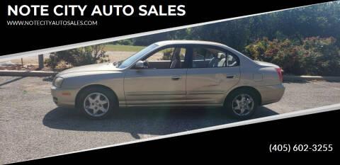 2005 Hyundai Elantra for sale at NOTE CITY AUTO SALES in Oklahoma City OK