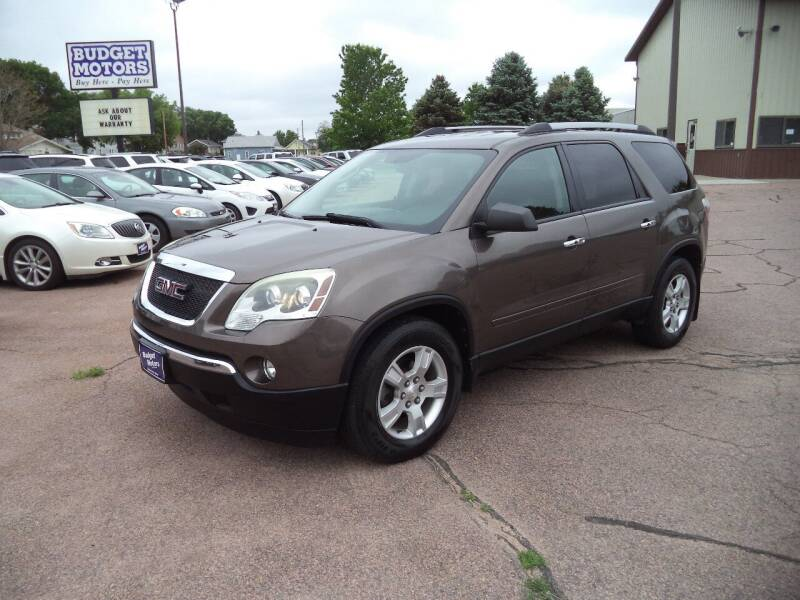 2010 GMC Acadia for sale at Budget Motors - Budget Acceptance in Sioux City IA