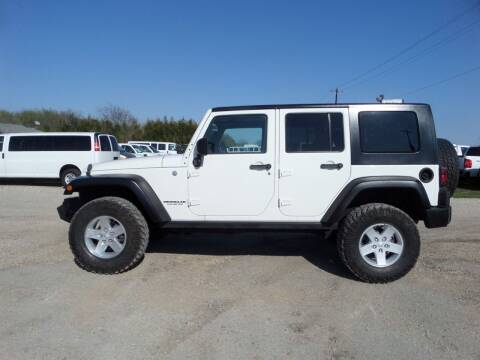 2010 Jeep Wrangler Unlimited for sale at AUTO FLEET REMARKETING, INC. in Van Alstyne TX