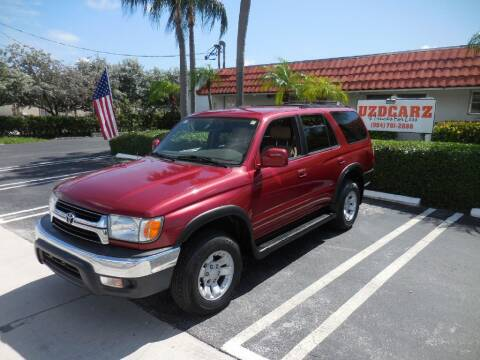 2001 Toyota 4Runner for sale at Uzdcarz Inc. in Pompano Beach FL