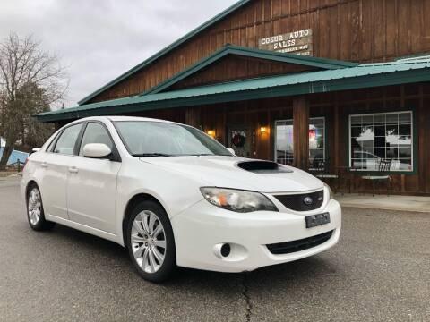 2008 Subaru Impreza for sale at Coeur Auto Sales in Hayden ID
