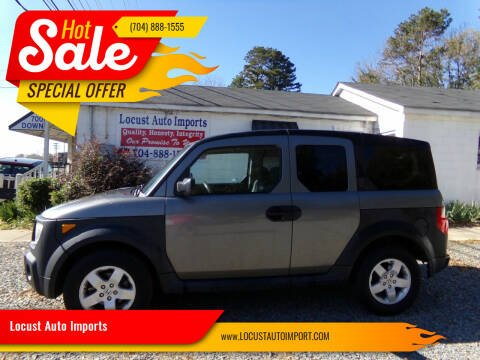 2005 Honda Element for sale at Locust Auto Imports in Locust NC
