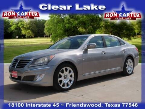 2013 Hyundai Equus for sale at Ron Carter  Clear Lake Used Cars in Houston TX