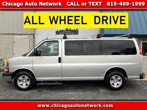 2013 Chevrolet Express Passenger for sale at Chicago Auto Network in Mokena IL