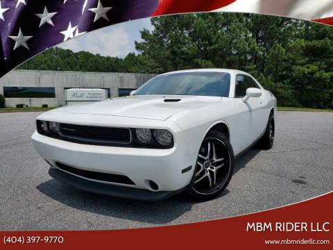 2014 Dodge Challenger for sale at MBM Rider LLC in Alpharetta GA