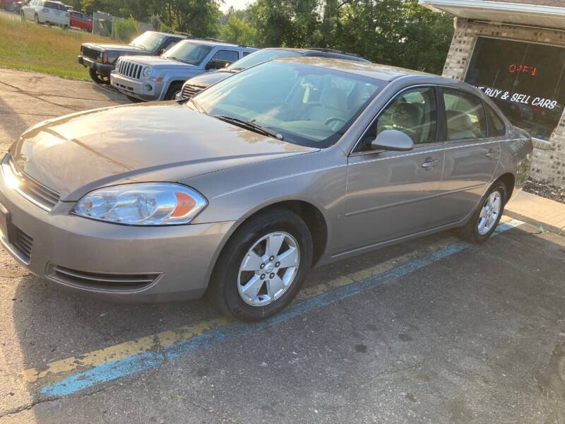 2007 Chevrolet Impala for sale at Imlay City Auto Sales LLC. in Imlay City MI