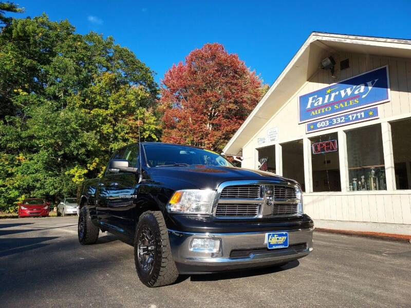 2011 RAM Ram Pickup 1500 for sale at Fairway Auto Sales in Rochester NH