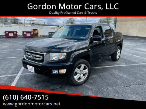 2011 Honda Ridgeline for sale at Gordon Motor Cars, LLC in Frazer PA