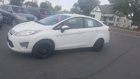 2012 Ford Fiesta for sale at BRAMBILA MOTORS in Pocatello ID