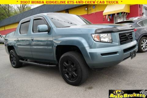 2007 Honda Ridgeline for sale at L & S AUTO BROKERS in Fredericksburg VA