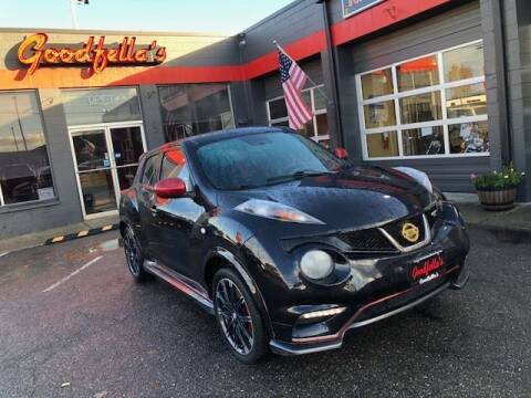 2014 Nissan JUKE for sale at Goodfella's  Motor Company in Tacoma WA