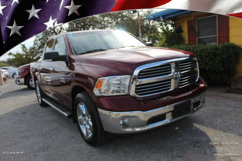 2016 RAM Ram Pickup 1500 for sale at Global Vehicles,Inc in Irving TX
