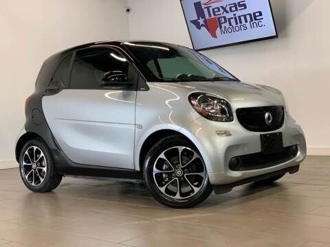 2016 Smart fortwo for sale at Texas Prime Motors in Houston TX