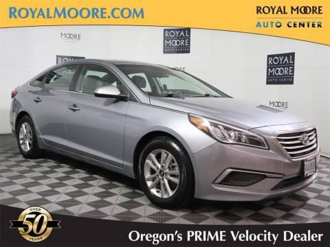 2016 Hyundai Sonata for sale at Royal Moore Custom Finance in Hillsboro OR