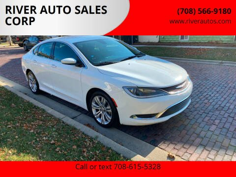 2015 Chrysler 200 for sale at RIVER AUTO SALES CORP in Maywood IL