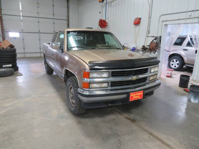 1994 Chevrolet C/K 1500 Series for sale at Grey Goose Motors in Pierre SD