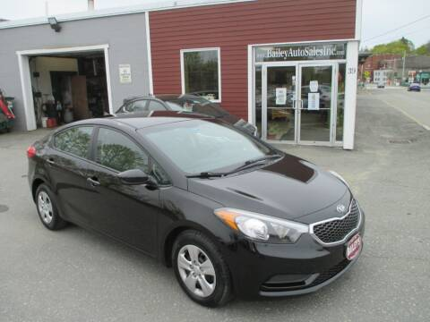2014 Kia Forte for sale at Percy Bailey Auto Sales Inc in Gardiner ME