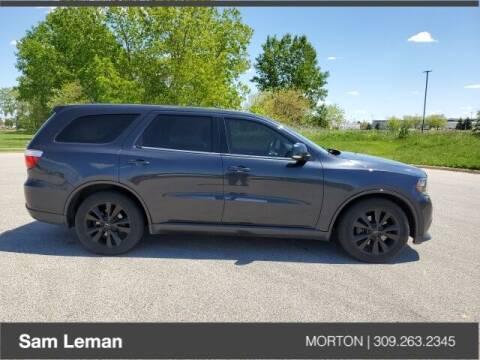 2012 Dodge Durango for sale at Sam Leman CDJRF Morton in Morton IL