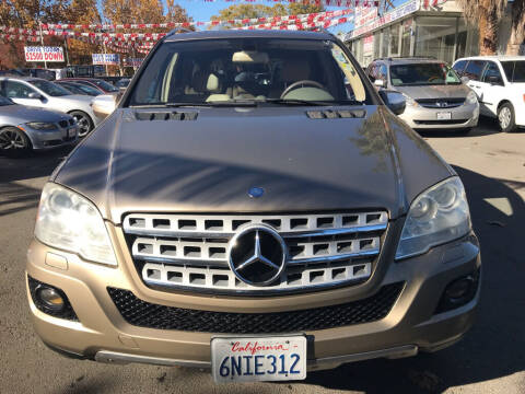 2010 Mercedes-Benz M-Class for sale at EXPRESS CREDIT MOTORS in San Jose CA
