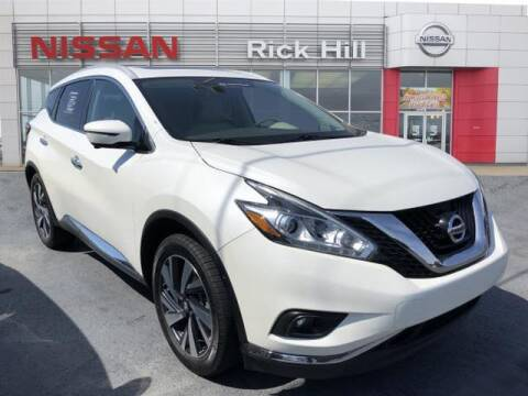 2018 Nissan Murano for sale at Rick Hill Auto Credit in Dyersburg TN