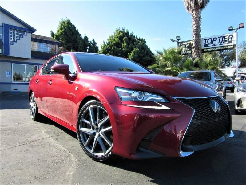 2016 Lexus GS 350 for sale at Top Tier Motorcars in San Jose CA