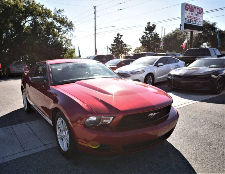 2012 Ford Mustang for sale at Grant Car Concepts in Orlando FL
