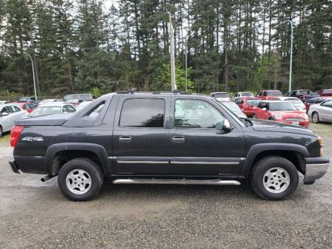 2005 Chevrolet Avalanche for sale at WILSON MOTORS in Spanaway WA