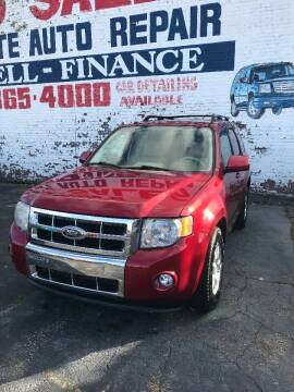 2009 Ford Escape for sale at Simon's Auto Sales in Detroit MI