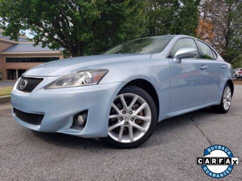 2012 Lexus IS 250 for sale at Carma Auto Group in Duluth GA