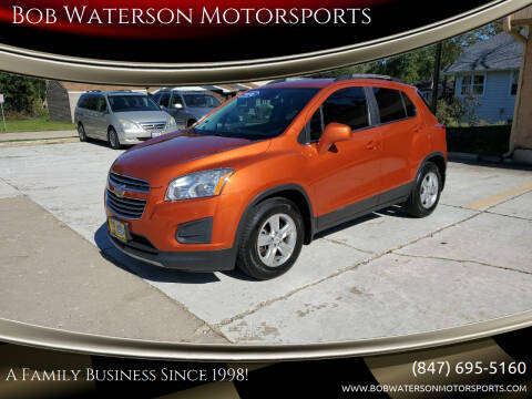 2016 Chevrolet Trax for sale at Bob Waterson Motorsports in South Elgin IL