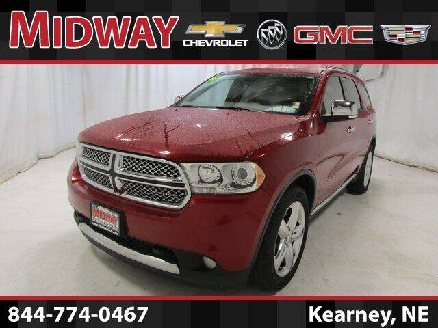 2011 Dodge Durango for sale at Midway Auto Outlet in Kearney NE