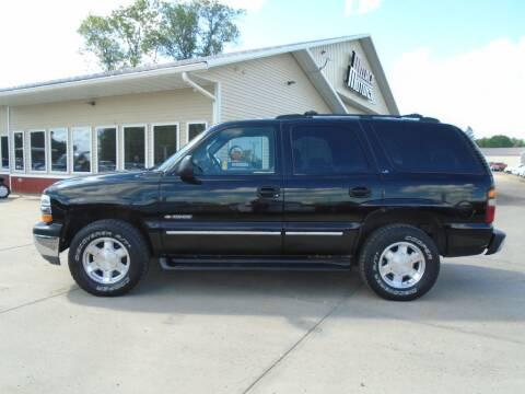 2001 Chevrolet Tahoe for sale at Milaca Motors in Milaca MN