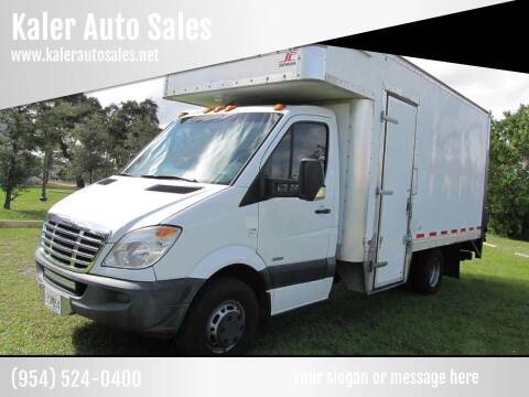 2012 Freightliner SPRINTER 3500 / 16 FT BOX for sale at Kaler Auto Sales in Wilton Manors FL