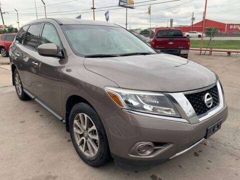 2014 Nissan Pathfinder for sale at JAVY AUTO SALES in Houston TX