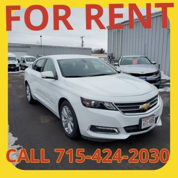 2019 Chevrolet Impala for sale at L & L MOTORS LLC - RENTAL INVENTORY in Wisconsin Rapids WI