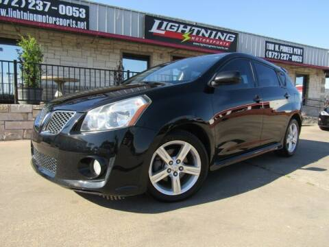 2009 Pontiac Vibe for sale at Lightning Motorsports in Grand Prairie TX
