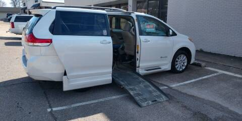 2013 Toyota Sienna for sale at Handicap of Jackson in Jackson TN