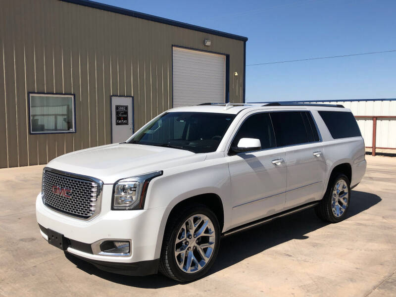 2016 GMC Yukon XL for sale at TEXAS CAR PLACE in Lubbock TX