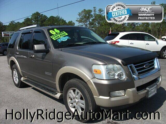 2006 Ford Explorer for sale at Holly Ridge Auto Mart in Holly Ridge NC