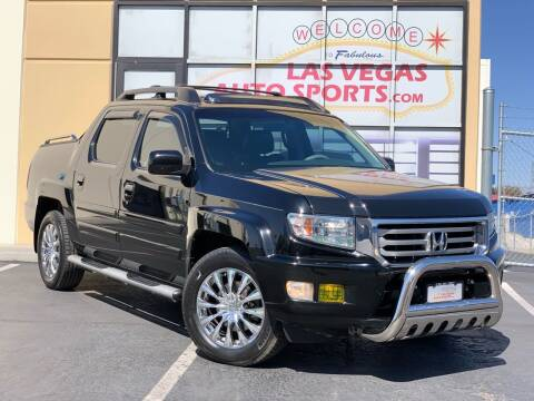 2012 Honda Ridgeline for sale at Las Vegas Auto Sports in Las Vegas NV