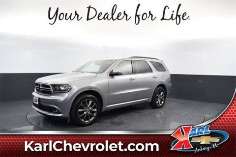 2017 Dodge Durango for sale at Karl Pre-Owned in Glidden IA