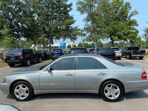 2000 Infiniti Q45 for sale at Econo Auto Sales Inc in Raleigh NC