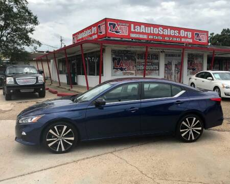 2019 Nissan Altima for sale at LA Auto Sales in Monroe LA