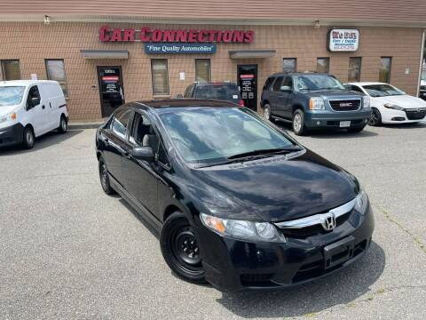 2009 Honda Civic for sale at CAR CONNECTIONS in Somerset MA