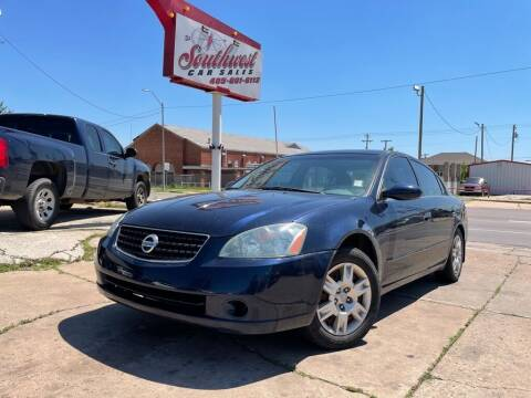 2005 Nissan Altima for sale at Southwest Car Sales in Oklahoma City OK