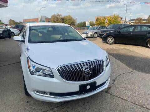 2016 Buick LaCrosse for sale at Minuteman Auto Sales in Saint Paul MN