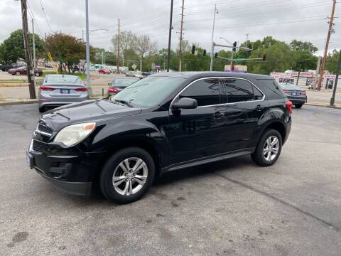 2014 Chevrolet Equinox for sale at Smart Buy Car Sales in St. Louis MO