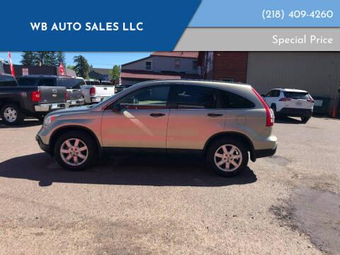 2008 Honda CR-V for sale at WB Auto Sales LLC in Barnum MN