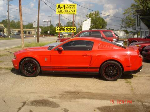 2011 Ford Mustang for sale at A-1 Auto Sales in Conroe TX